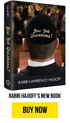 Buy Rabbi Hajioff's new book