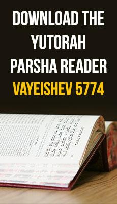 The YUTorah Parsha Reader for Vayeishev