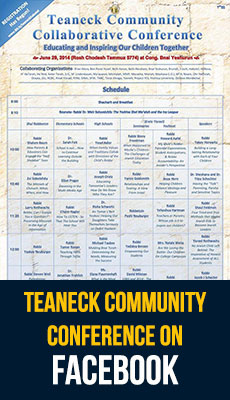 Find the Teaneck Community Conference on Facebook